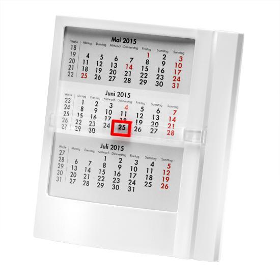 De fysieke kalender wordt nog steeds verkozen boven de digitale kalender