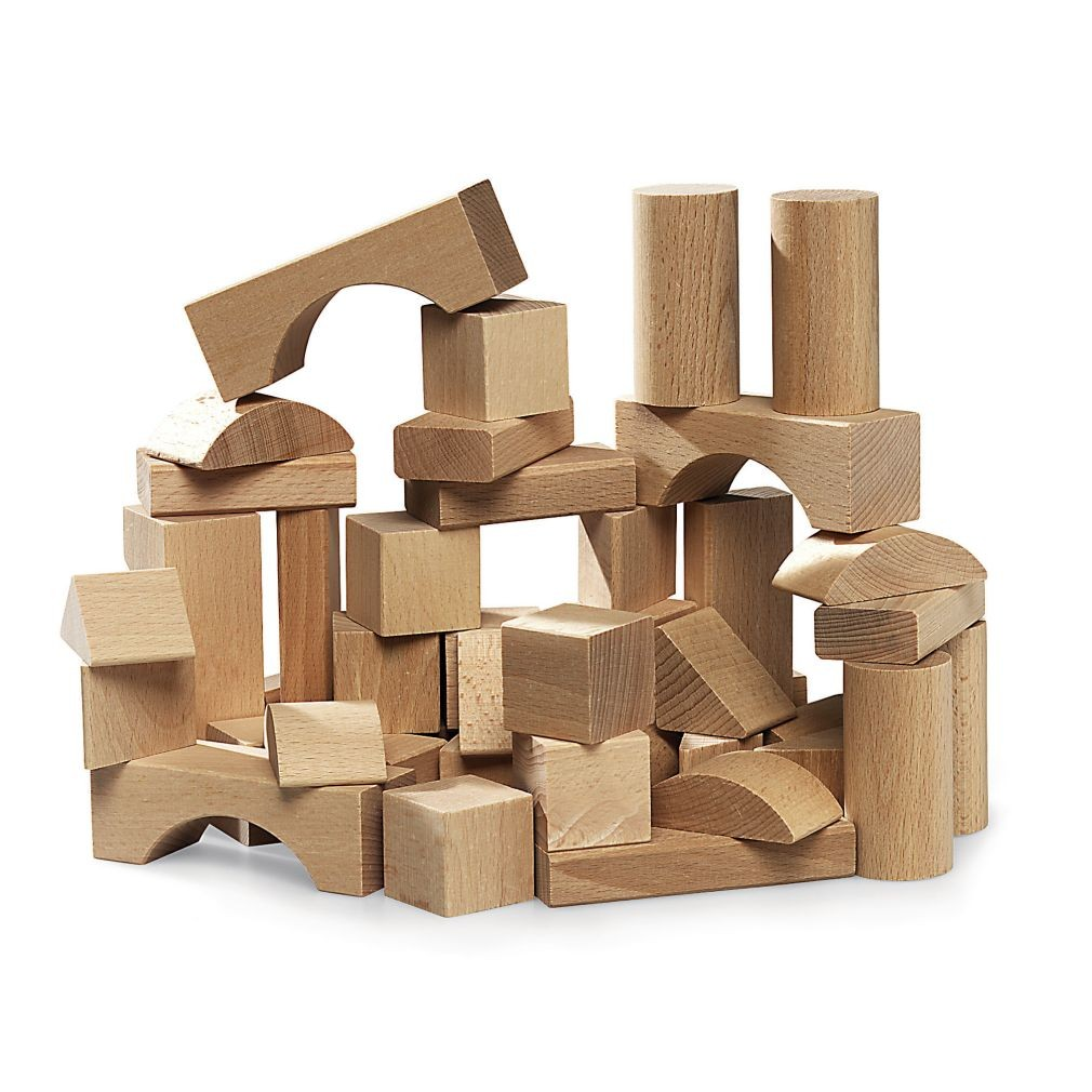 Craft Ideas With Wooden Blocks