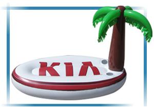 HSG Relatiegeschenken - customized artikelen: het KIA eiland