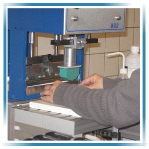 Onze drukkerij - tampondruk
