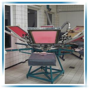 Onze drukkerij - zeefdruk